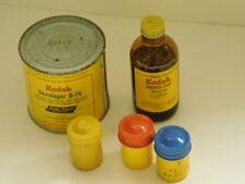 KODAK mixed lot : Developer ~ Photo Flo Solution ~ 3 Film Tins