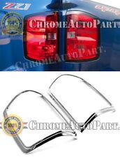 Fit 2014/15/16/2017 CHEVY SILVERADO 1500 2500 3500 Chrome Tail light Cover Trim