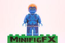 Lego MYSTIQUE Custom Printed Minifig Marvel X-Men X Men Mutant Raven Darkholme
