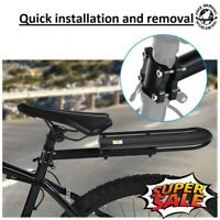 Bicycle Back Rear Rack Bike Seat Post Frame Carrier Holder Cargo Rack  Frame US