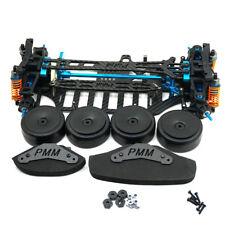 Alloy & Carbon TT01 Rahmensatz Frame Kit für Tamiya TT01E #2