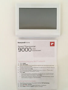 Honeywell TH9320WF5003 WiFi 9000 Color Touchscreen Thermostat - NO BACK PLATE