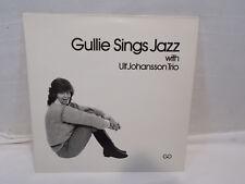 LP signiert Gullie Sings Jazz with Ulf Johansson Trio Vinyl Schallplatte 45U/Min