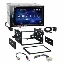 Pioneer 2018 DVD USB BT Camera Ready Stereo Dash Kit Harness for 1998-up Honda