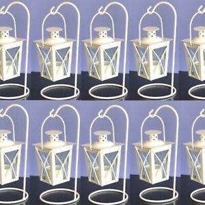 Lot of 10 Mini Lantern Small Candleholder Baby Shower Decor Wedding Centerpieces