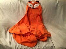 "CIRCO Childs Fox Hooded Towel Orange with 3D Tail Bath Beach Pool 52"" X 25"" NWOT"