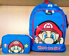CARTOON WORLD Zaino Estensibile Scuola Super Mario Bros e Luigi a
