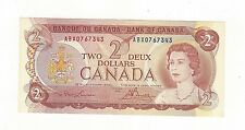 **1974**Canada $2, Lawson/Bouey #ABX 0767343  Repl Note