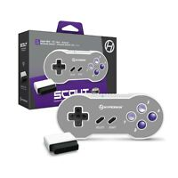 "Hyperkin ""Scout"" Premium BT Controller for Super NES/ PC/ Mac/ Android (Inclu..."