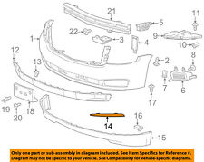Chevrolet GM OEM 15-17 Tahoe-Bumper Trim-Outer Molding Right 22936485