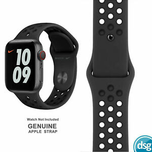 Genuine Apple Nike Watch Strap 38mm 40mm 42mm 44mm Sport Band (Official) S M L