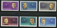 Albania 1963 Sc 680-685 Mi 757-762 Man's conquest of space . Gagarin,Titov **