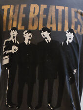 The Beatles Group Photo Gray S/S T-Shirt L