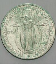 PORTUGAL 50 ESCUDOS 1972 SILBER vz (Patina)