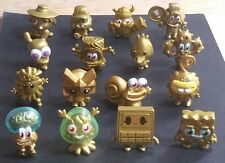 Moshi Monsters Series 5 Complete GOLD Set Bentley Cosmo Snozzle Wobbleson NEW