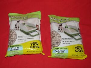 p5 TWO (2) Purina Litter Tidy Cat Breeze Pellets, 3.5 lb...total of 7 pounds.