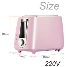 Toaster for Cooking  2 Slice Bread One Time Home Kitchen Countertop 220V