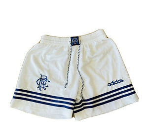 "Glasgow Rangers Adidas Shorts - 1994/1995- Rare Original Size 34"" Waist"