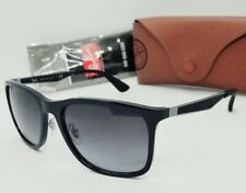 RAY BAN black/gray RB4313 601/8G 58mm SUNGLASSES! NEW IN CASE! AUTHENTIC!