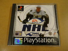 PS1 GAME / NHL 2001  (ICE HOCKEY) (PLAYSTATION 1)