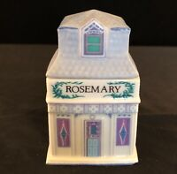 Rosemary Shoppe From The 1989 Lenox Porcelain Spice Village
