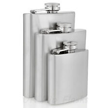 Bulk Wholesale Hip Flasks Stainless Steel, 3, 6, 8oz. UK stock