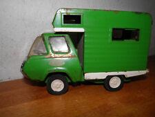 Vintage 70s  Pressed Steel Green Tonka Camper RV Truck Motorhome Mobile Home BIN