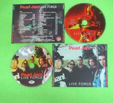 2 CD PEARL JAM Live Force 1994 Ita THE LAST BOOTLEG REC no lp mc dvd  (XS12)