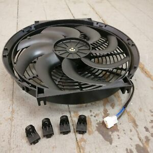 1978 Chevrolet Caprice 14 Inch Super Duty Radiator Fan 2122cfm cooling s blade