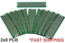 11pc 2x8 Cm Double Side Diy Prototype Circuit Breadboard Pcb Universal Board G