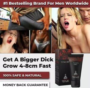 TITAN GEL Male Penis Enlarger Growth Faster Enlargement Big Dick Cream Penile M