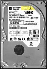 WESTERN DIGITAL WD800JB-00CRA1 80GB IDE HARD DRIVE DCM: HSEHCT2CH