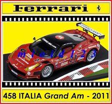 1/43 - Ferrari 458 Italia Grand Am - Test Daytona 2011 - Die-cast