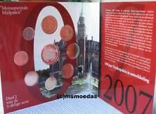Niederlande Off. Euro Kursmünzensatz KMS 2007 Dag van de Munt Set 1 Cent bis 2 €
