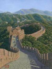 "SUPERB ORIGINAL RICHARD HARPUM M.A (Camb) ""Great Wall of China"" PAINTING"