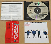 BEATLES - HELP, RARE ORG 1987 1ST PRESS JAPAN CD + OBI, CP32-5325 FREE SHIPPING!
