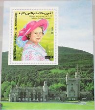 MAURITANIA MAURETANIEN 1985 Block 62 S/S 585 Queen Mother Elizabeth Castle MNH