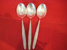 Besteck AUERHAHN 3 Suppenlöffel Löffel 800 er Silber