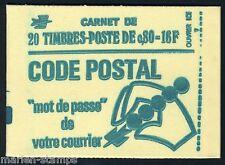 FRANCE COMPLETE BOOKLET SC# 1495 YV# 1893-C1 CONF 6
