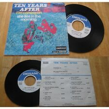 TEN YEARS AFTER - I'm Coming On / She Lies In The Morning French PS 70' Heavy