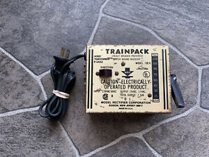 MRC TRAINPACK Model 100 HO Train Power Pack Transformer, USA, Open box,EXCELLENT