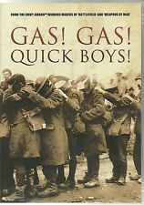 GAS! GAS! QUICK BOYS! DVD WW2 Documentary (Bob Carruthers)