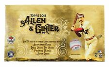 2018 TOPPS ALLEN & GINTER BASEBALL HOBBY BOX FACTORY SEALED NEW