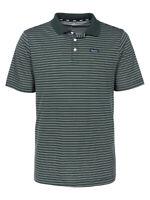 Nike SB Mens Dri-Fit Striped Skateboarding Polo Shirt Green/White New