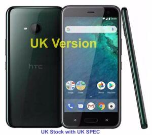 "HTC U11 Life-32GB -4G - 5.2""screen -16Mp -Brilliant Black- Unlocked *UK Stock*"
