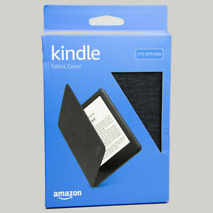 Kindle Fabric Cover - Charcoal Black (10th Gen - 2019 release only) B07HJR5CQ5