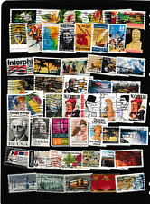 #3045=USA used selection of different commemorative stamps