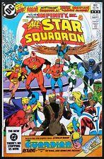 All Star Squadron #25 1st Atom Smasher, Infinity Inc. Black Adam Movie! DC 1983