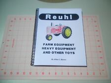 Rare Reuhl Toy Book Vintage Farm Construction Rock Crusher Tether Cars 138 Pages