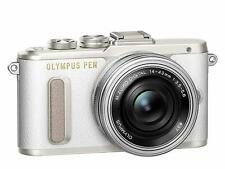 "OLYMPUS PEN E-PL8 digitale Systemkamera 16MP mit 14-42mm Objektiv 3"" - weiß"